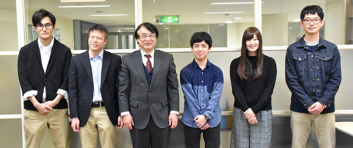 学長と保健科学部学生の懇談会を開催しました