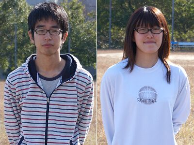 左:清水卓大君 / 右:松谷朋美さん