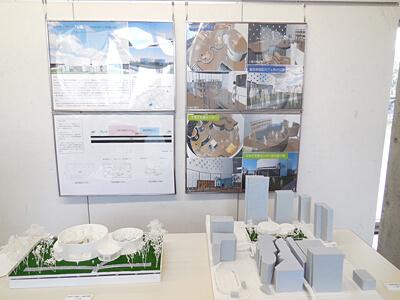 総合デザイン学科卒業制作展の様子4