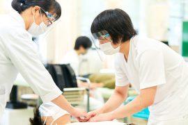 「新型コロナウイルス感染症拡大防止のための筑波技術大学の活動方針」に基づき保健科学部で実施している感染防止対策を紹介します!