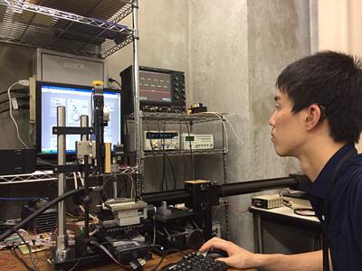 放電加工の研究
